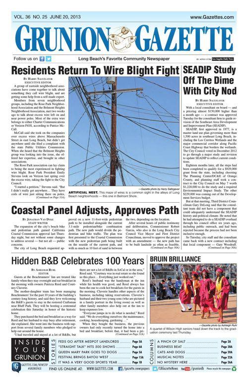 Grunion Gazette | June 20, 2013