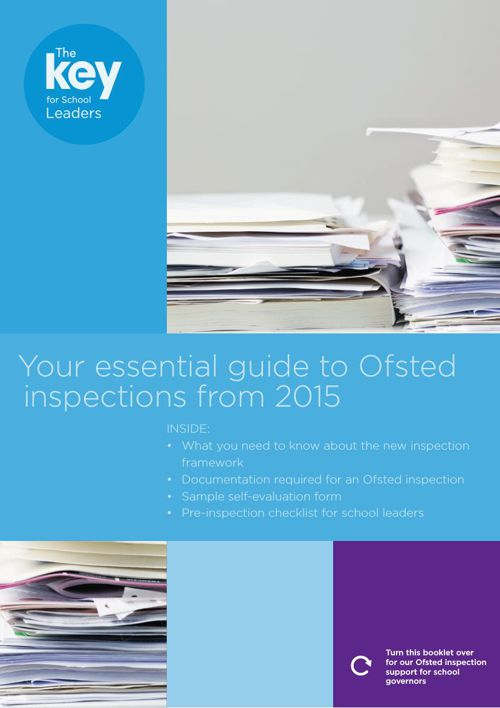 OFSTED Booklet for School Leaders 2015