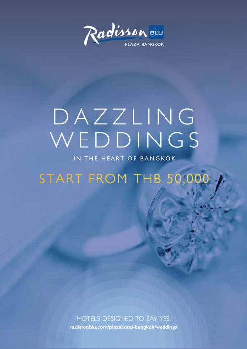 Radisson Blu Plaza Bangkok Wedding Brochure