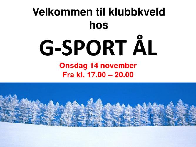 G-sport Klubbkveld