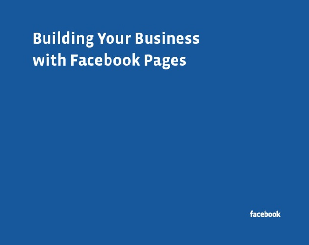 Building Your Business with Facebook Pages
