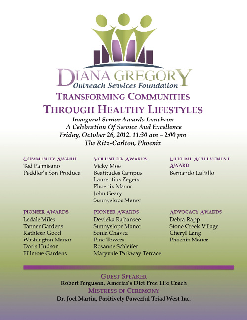 Diana Gregory Outreach Services Foundation