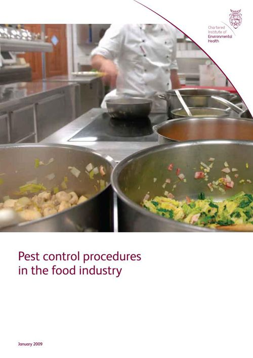 Pest control procedures in the food industry