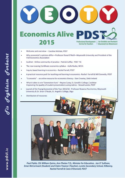 Economics Alive and YEOTY 2015/2016