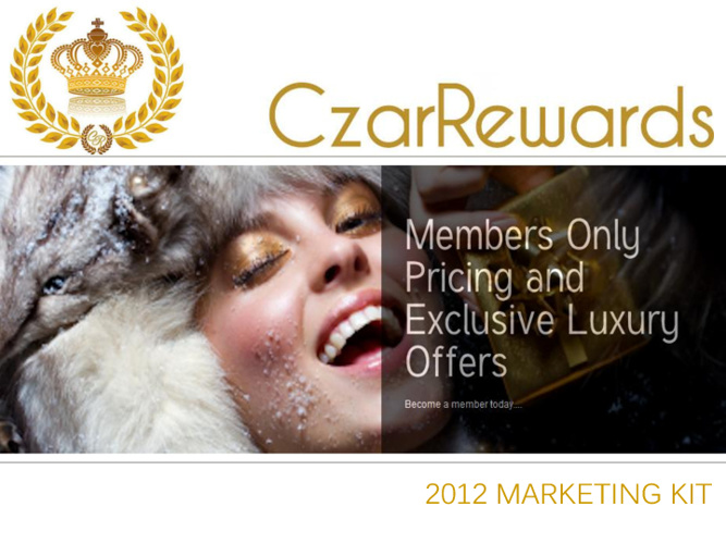 Czar Rewards Marketing Kit