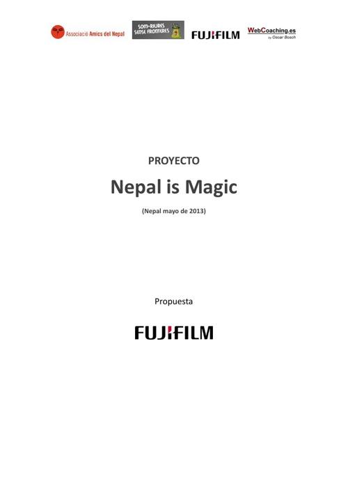 Nepal is Magic with Fujifilm