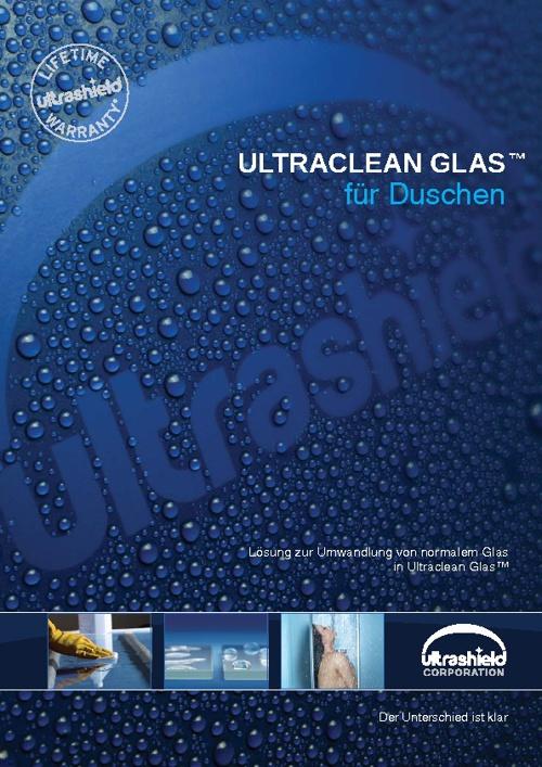 ULTRACLEAN GLAS™ für Duschen
