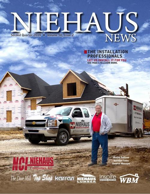 Niehaus Newsletter 2nd Quarter, 2014