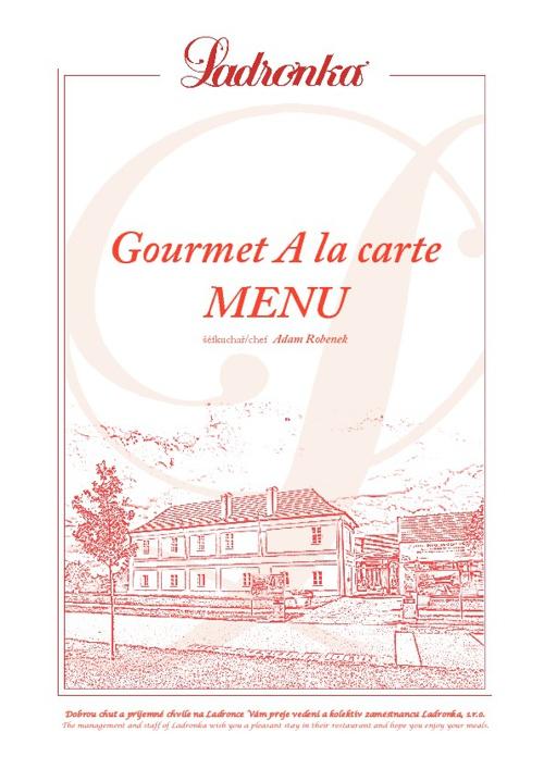 Gourmet - menu