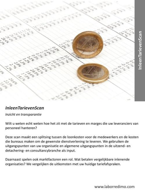 Labor Redimo - dienst- InleenTarievenScan