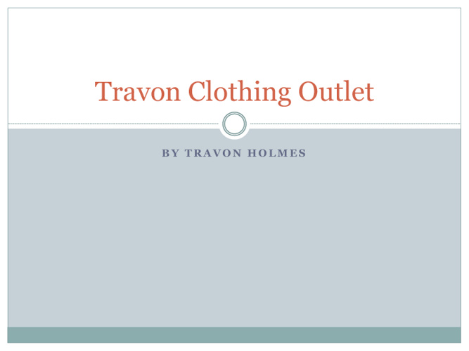 Travon Clothing Outlet