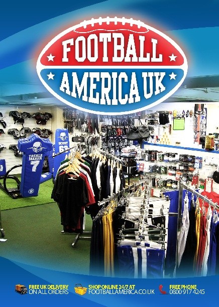Football America UK - 2012 Spring Brochure