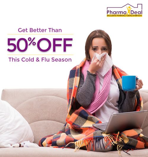 Get Better Than 50% Off This Cold & Flu Season