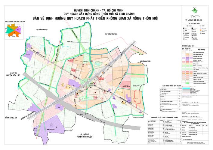 Quy hoạch xây dựng nông thôn mới xã Bình Chánh