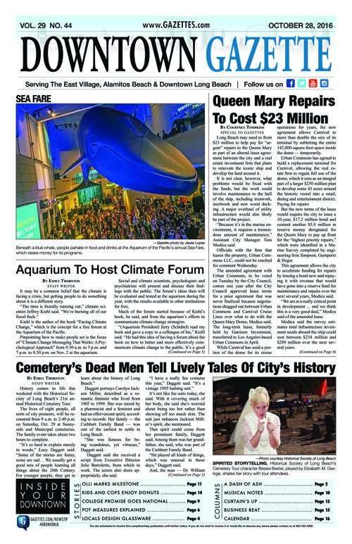Downtown Gazette  |  October 28, 2016