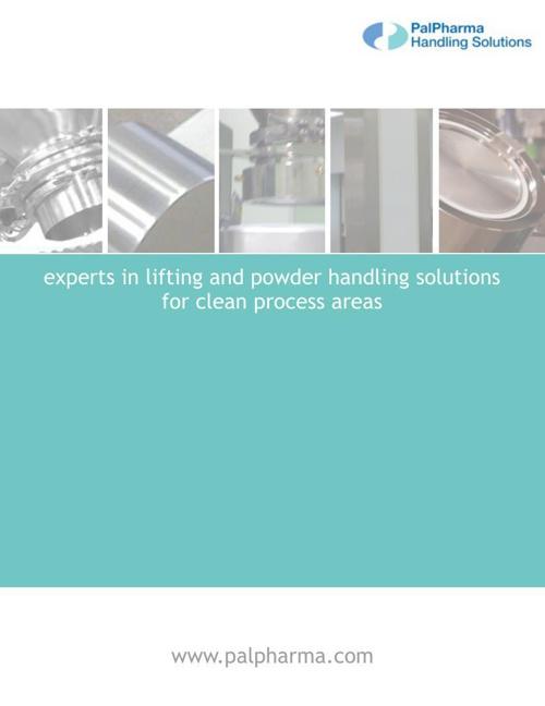 PalPharma Handling Solutions Product Range