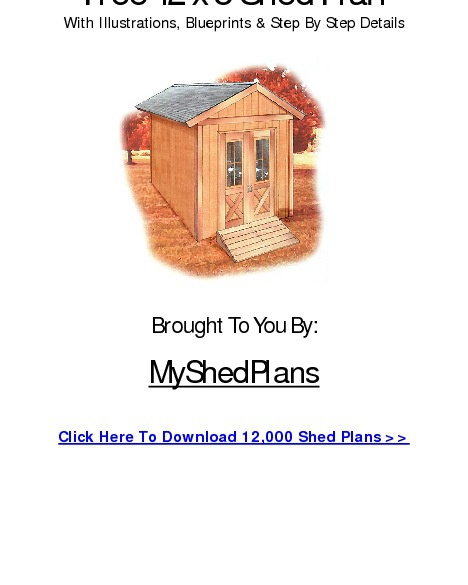 My DIY Shed Plans