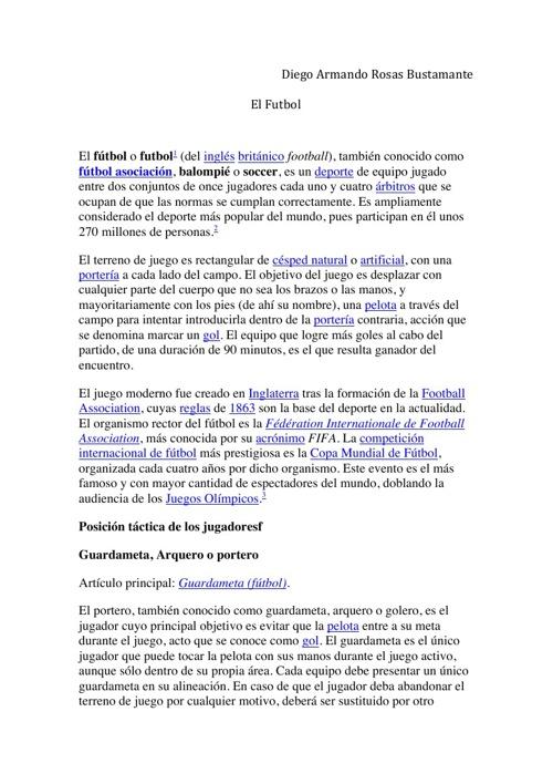 EJERCICIO FLIPSNACK DE FÚTBOL
