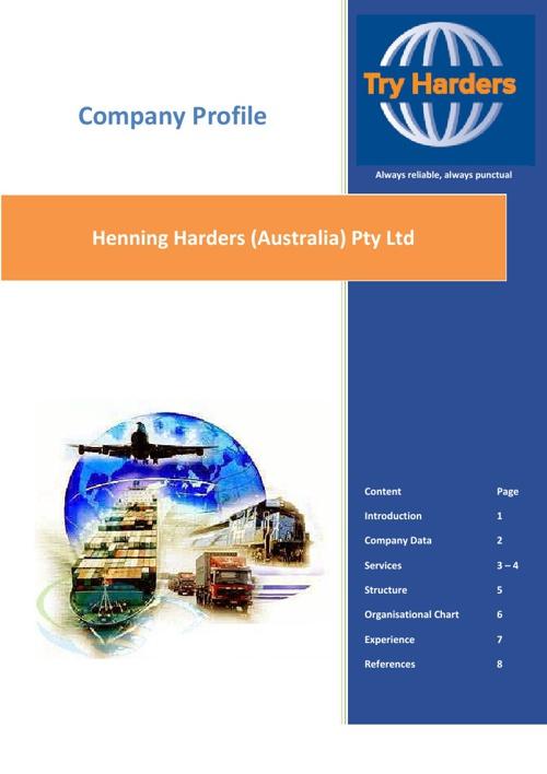 HHA Company Profile