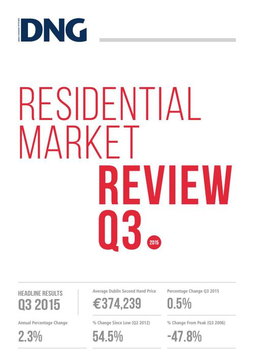 DNG Residential Market Review Q3 2015