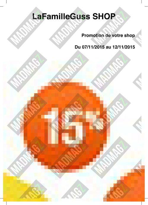 Catalogue SHOP LaFamilleGuss