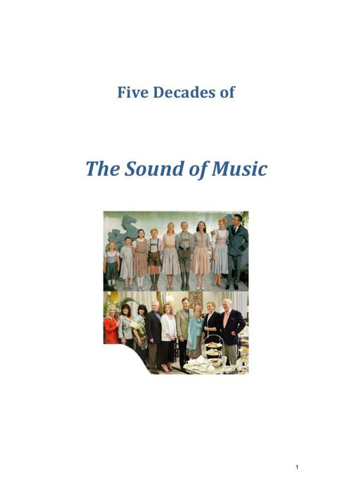Fifty Years of the Sound of Music