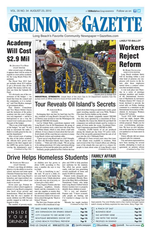 Grunion Gazette | August 23, 2012