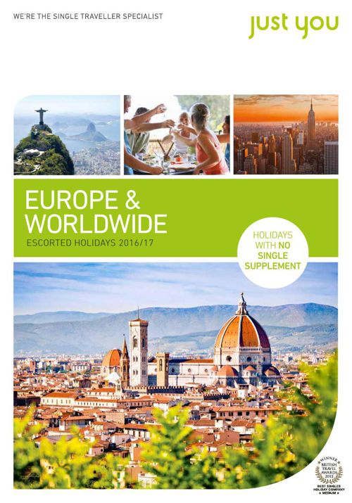 Just You Europe & Worldwide 2016-17 Brochure - Dec 2015