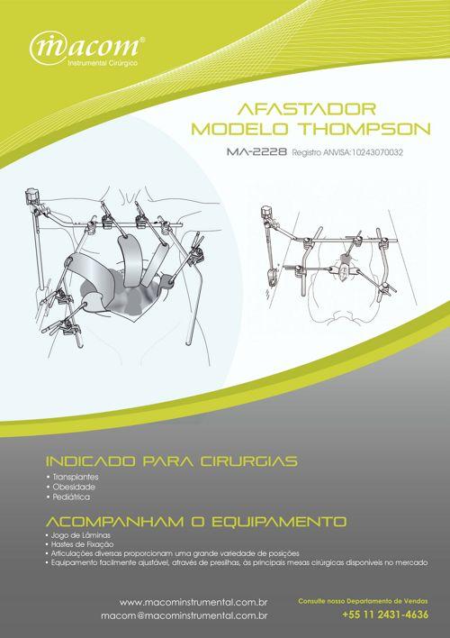Macom - Afastador Modelo Thompson