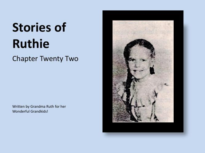 Stories of Ruthie - book 22