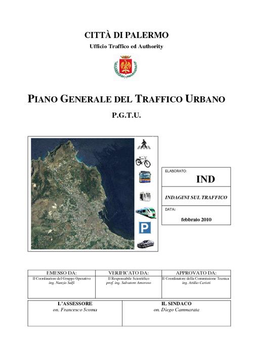 Flussi di traffico 2010 Palermo