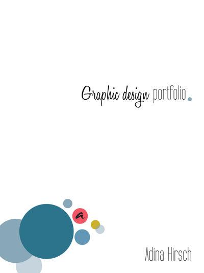 Adina Hirsch Graphic Design Portfolio