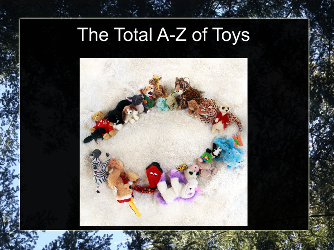 The A-Z of Soft Toys