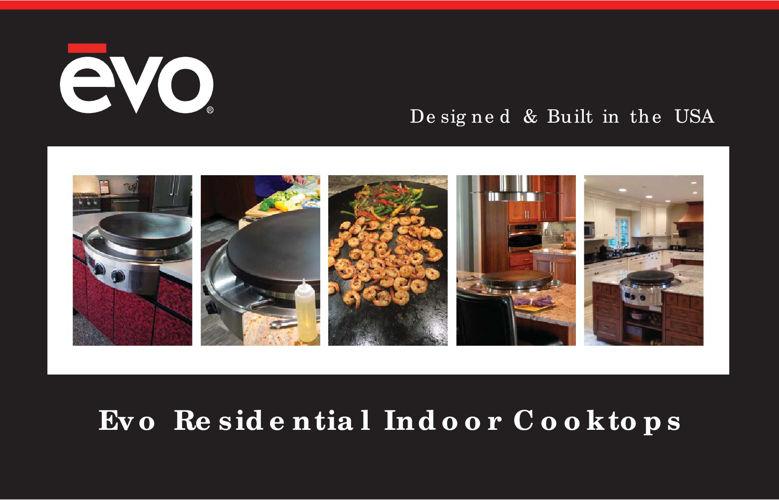 Evo Residential Indoor Cooktops