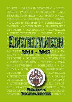 Brochure Kuntbelevenissen 2011-2012