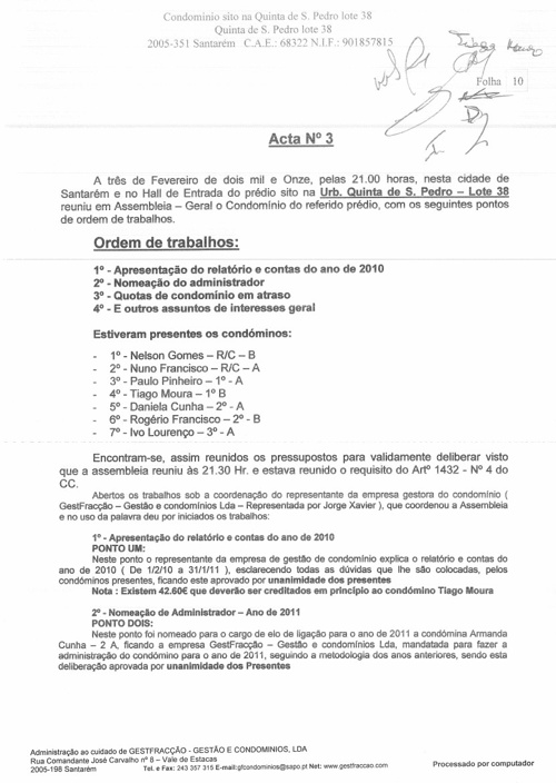 Acta n.º3