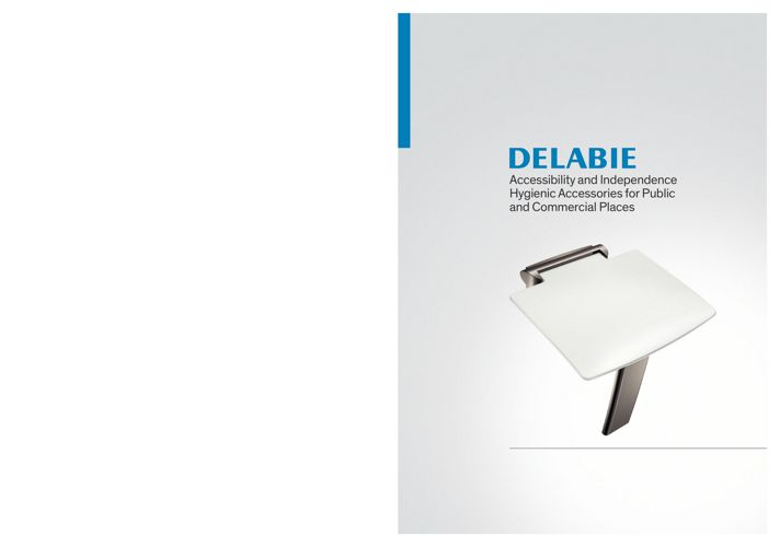 Delabie-Accessibility - Hygienic accessories
