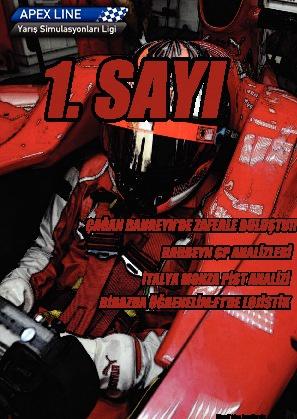 2011 Apexline F1 Sezonu Dergisi 1. Sayı