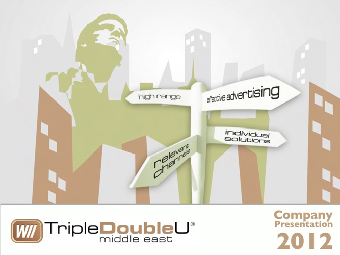 TripleDoubleU Middle East Presentation