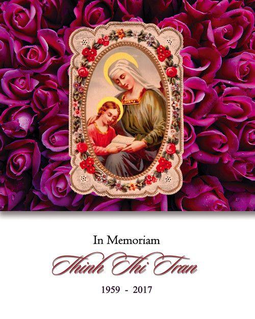 Memorial Card for Thinh Thi Tran