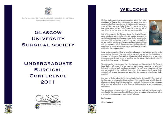 Undergraduate Surgical Conference 2011