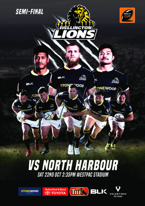 Mitre 10 Cup Championship Semifinal_Eprogramme
