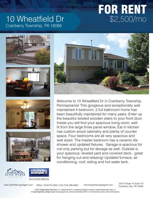 10 Wheatfield Dr Cranberry Township, PA 16066