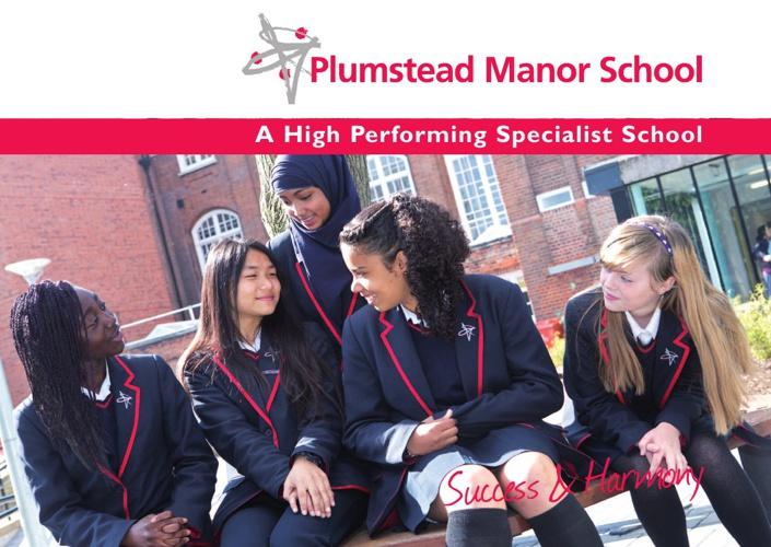Plumstead Manor Main School Prospectus