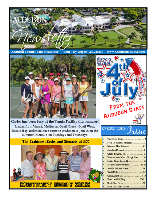 ACC July & August 2012 Newsletter