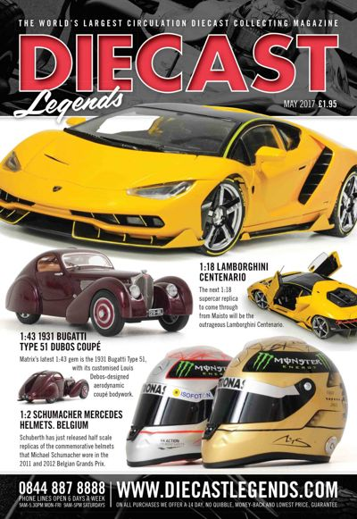 Diecast Legends May 2017