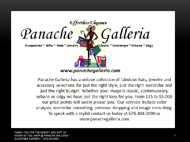 PANACHE GALLERIA LOOK BOOK 1 SS2012