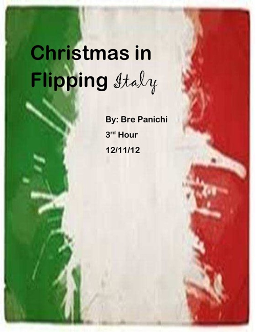 Chrismas in Flipping Italy