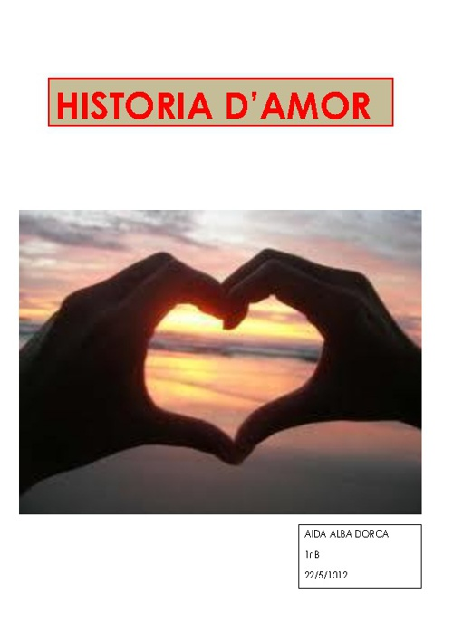 HISTORIES D'AMOR