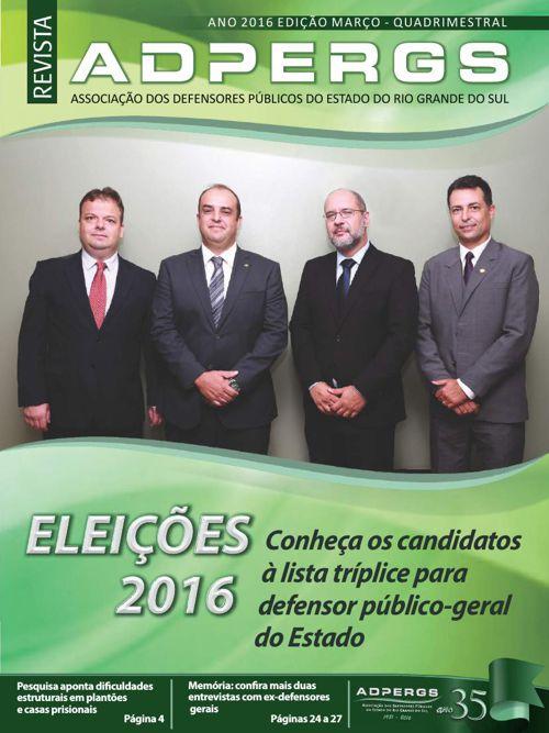 Revista - ADPERGS